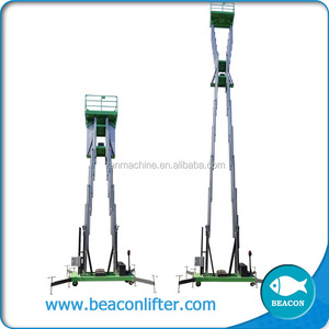 good quality vertical aluminum genie lift