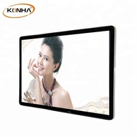 Ultra-thin bezel 55 inch wall mounted led advertising display original screen with wifi