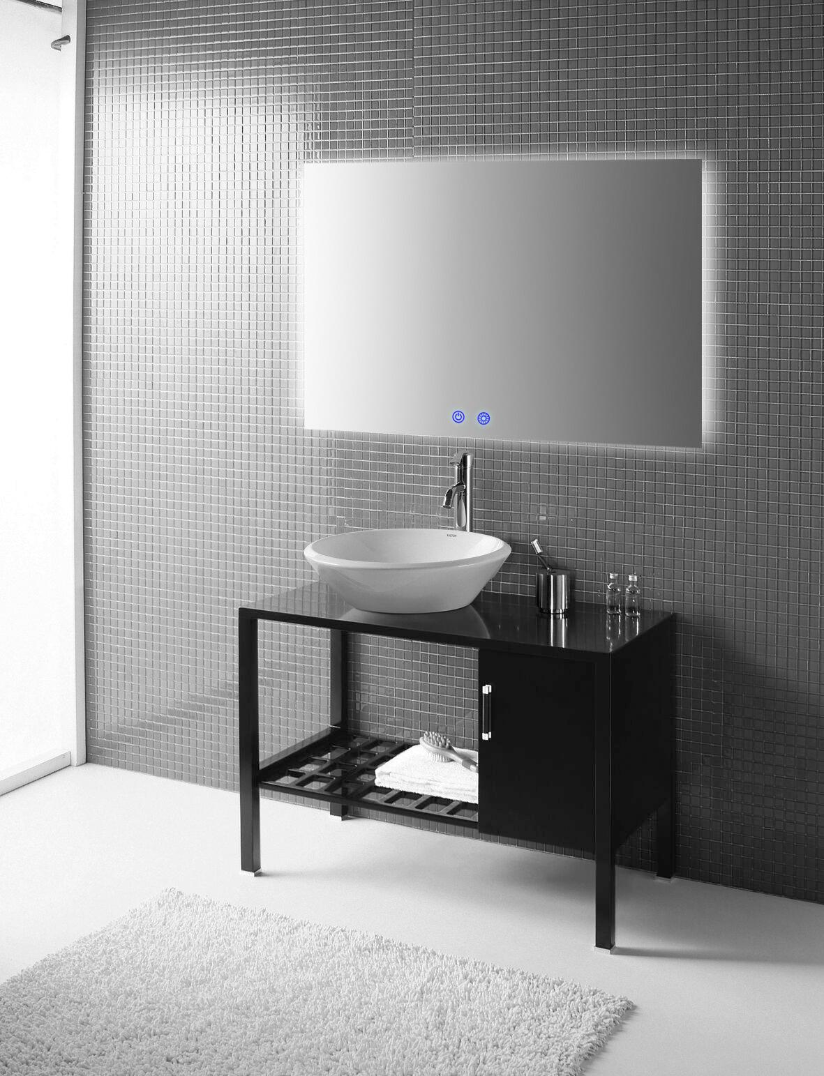Anti Fog Glass Mirror Far Infrared Heating Panel For