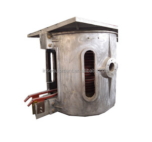 1 ton use electric induction steel melting furnace for sale