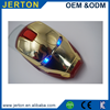 Cool design portable led light show Iron man wireless mouse