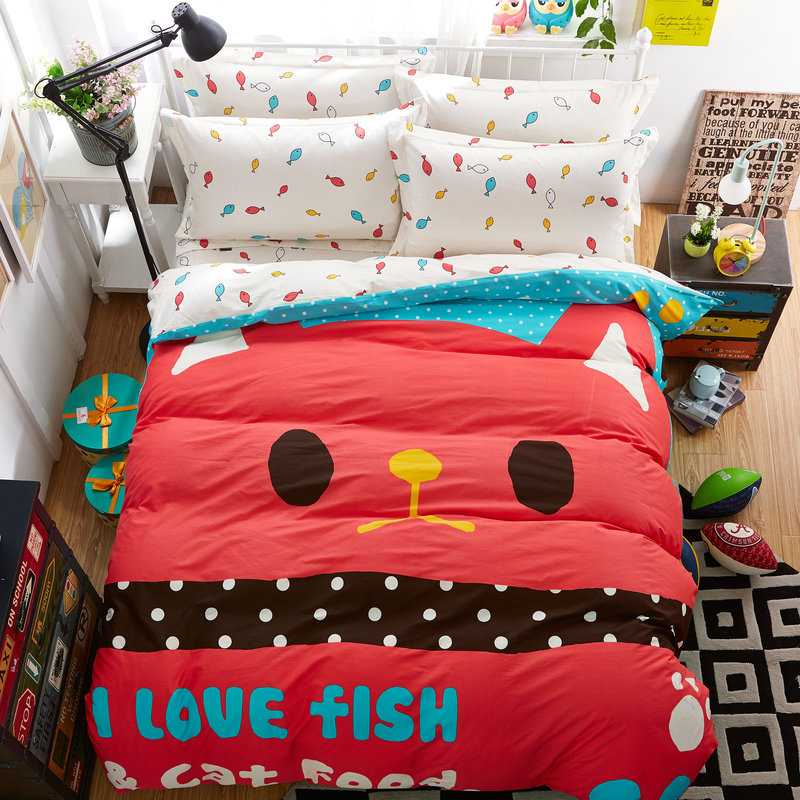Fish Print Bedding Promotion Shop For Promotional Fish
