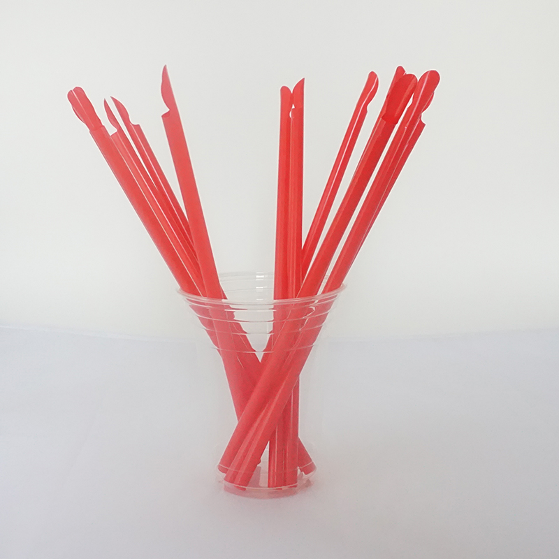 Disposable biodegradable 8mm paper drinking straw