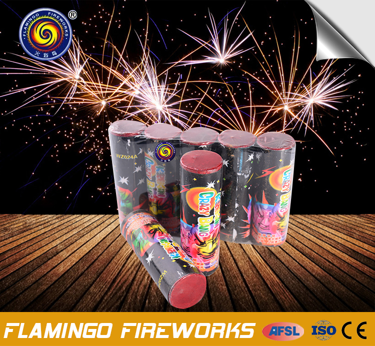 Inexpensive Products Crazy Bang triangle firecrackers