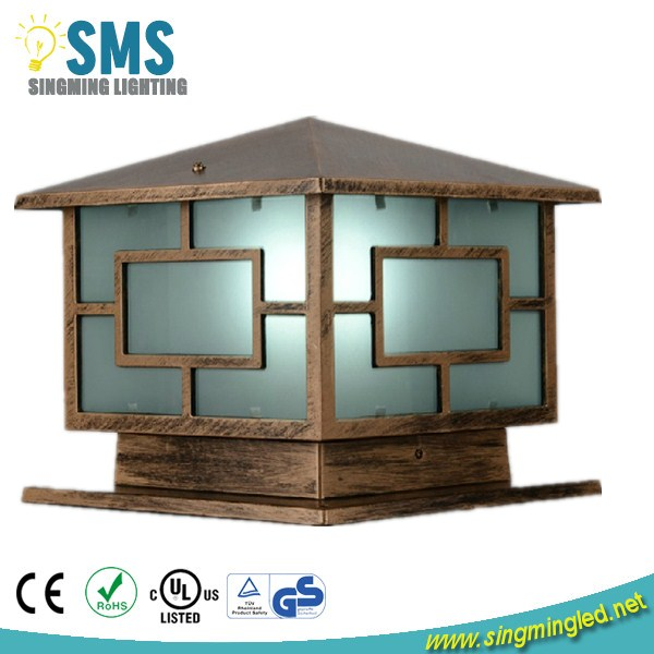 Simple Design Outdoor Pillar Gate Light With Good Quality