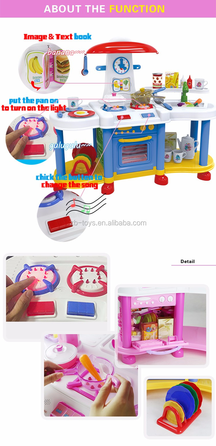 International quality inspection outdoor play kitchen toy set, View ...