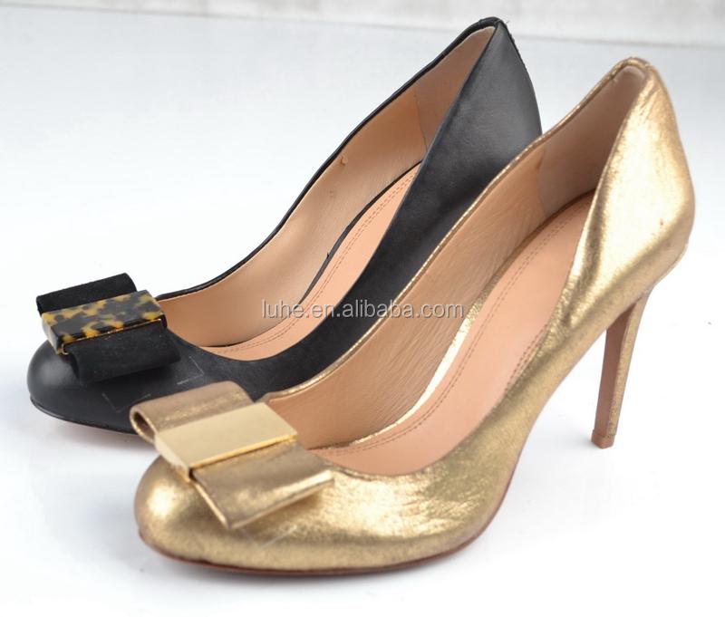 Stylish 2017 Women High Heels Gold Pump Shoes/fashion Lady Sexy ...
