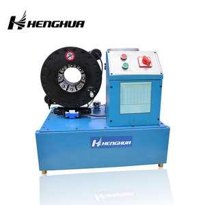 HF51 Versatile and Flexible Hydraulic Fire Hose Crimping Machine / Rubber Compression Molding