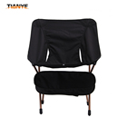New 7075 aluminum metal pipe portable chair outdoor folding fabric beach camping chairs