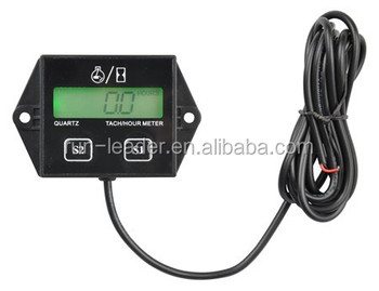 Waterproof Backlight Rpm Meter Motor Timer Outboard Motor