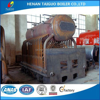 1t/h Small horizontal coal steam boilers, wood fuel steam boilers, steam boilers