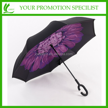 New Design Innovation Upside Down/ Inverted umbrella