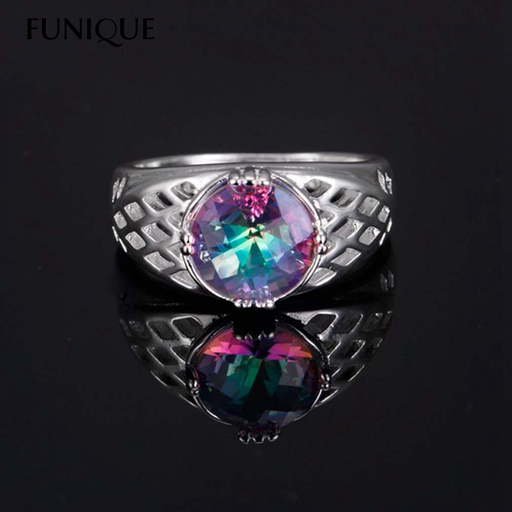 Popular Mystic Fire Topaz Rings Buy Cheap Mystic Fire