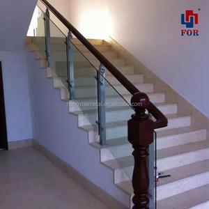 Gentil Stainless Steel Stair Railings/indoor Stainless Steel Hand Railings  /stainless Steel Glass Handrail