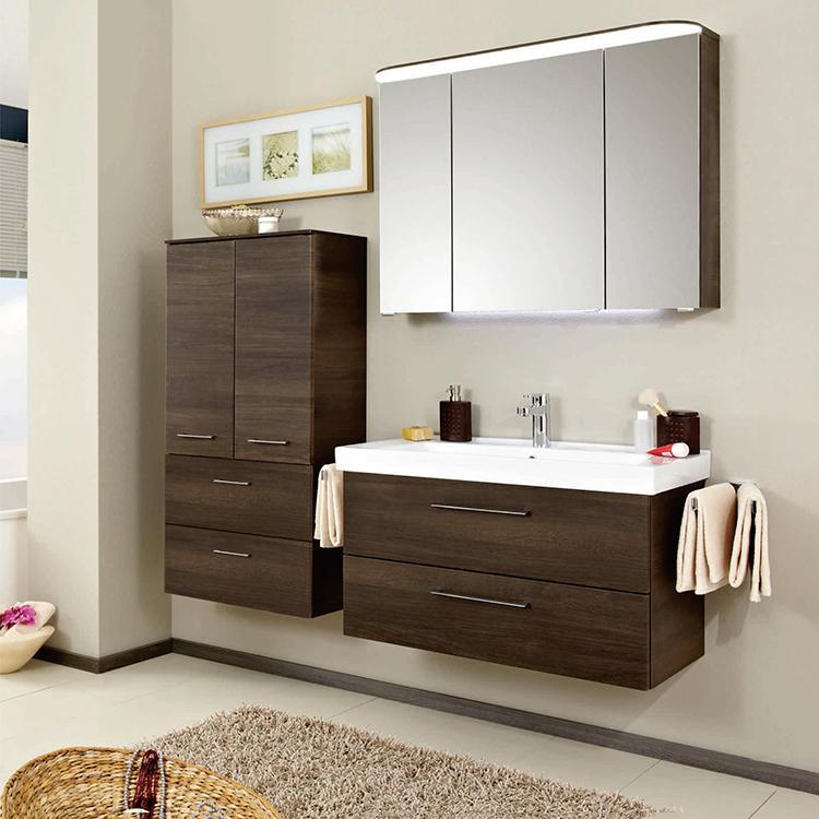 Melamine Bath Vanity Furniture Small Bathroom Cabinet With