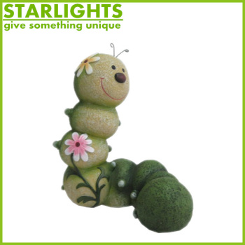 Garden Decoration Lively Resin Worm Figurines