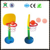 2014 HOT SALE! hot sale plastic children basketball stand for kids/adjustable height/basketball hoop stand QX-163G