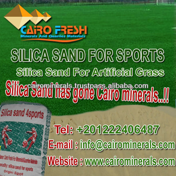 Well Processed Silica Sand keeps Artificial Grass high resistance for damage.