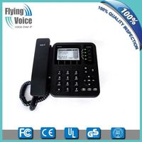 Factory price fixed cordless phone desktop 4 line wifi sip phone IP542N with POE