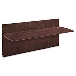 Buy Mayline Napoli Curved End Conference Table In Mahogany - Napoli conference table