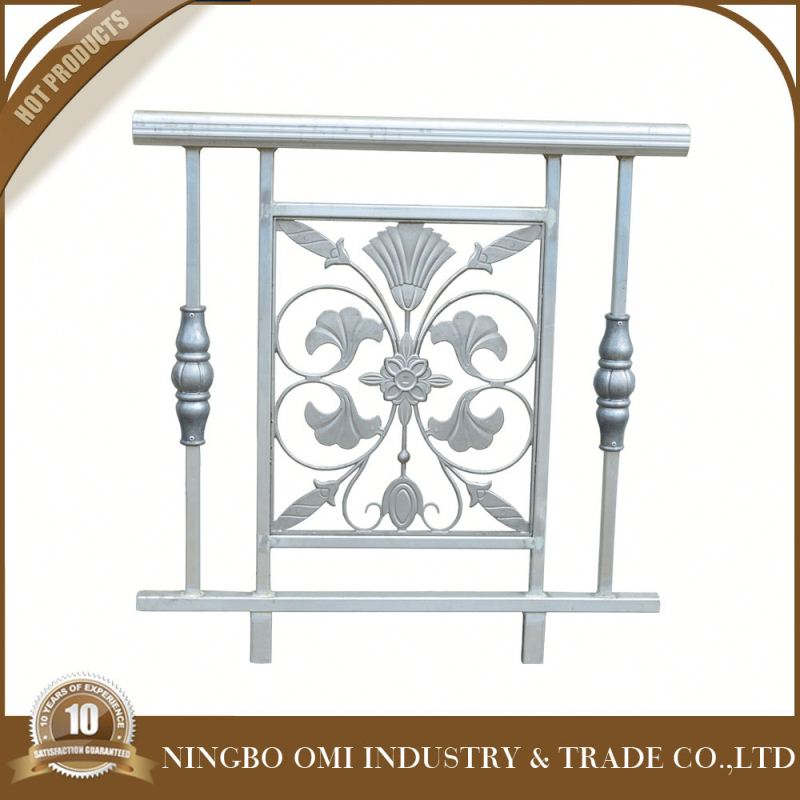 Import used wrought iron italian balcony railing designs from China manufacture /square pipe railing /wrought italian balcony ra