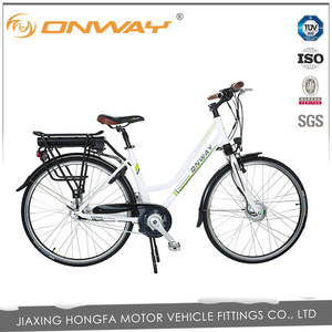 Free Sample ONWAY 36V 10.4Ah city electric bike for discount