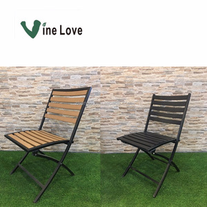 Popular garden outdoor furniture folding patio chair