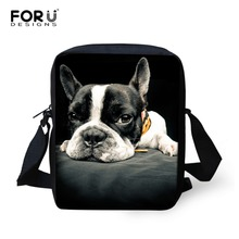 Small 3D Animal Dog Printing School Bags for Boys Cute Girls Cat font b Schoolbag b