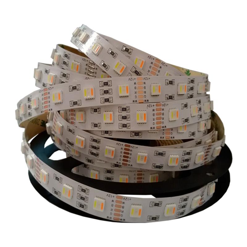 DC12V 24V 5050 5 in 1 chip RGB CCT 30/60/96led/m Waterproof Flexible Led Strip Lights