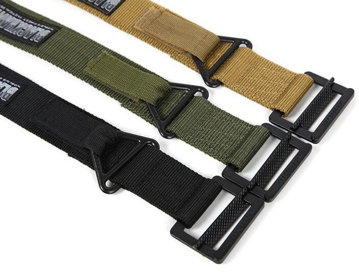 Adjustable Survival Military Tactical Belt Emergency Rescue Rigger Militaria