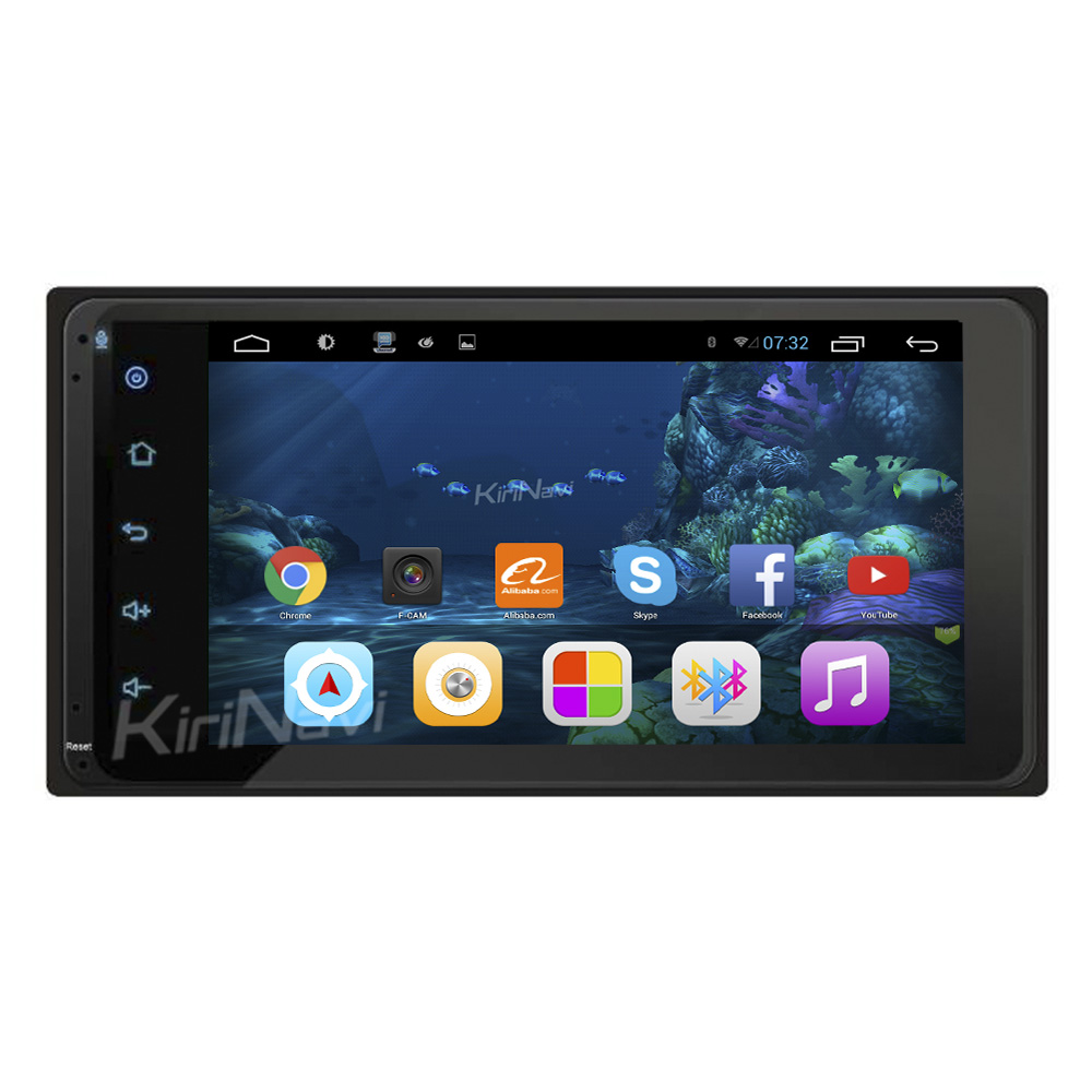 "KiriNavi WC-TU7001 7"" android 6.0 car radio gps for <strong>toyota</strong> universal android car dvd RAV4 corolla hilux <strong>prado</strong>"