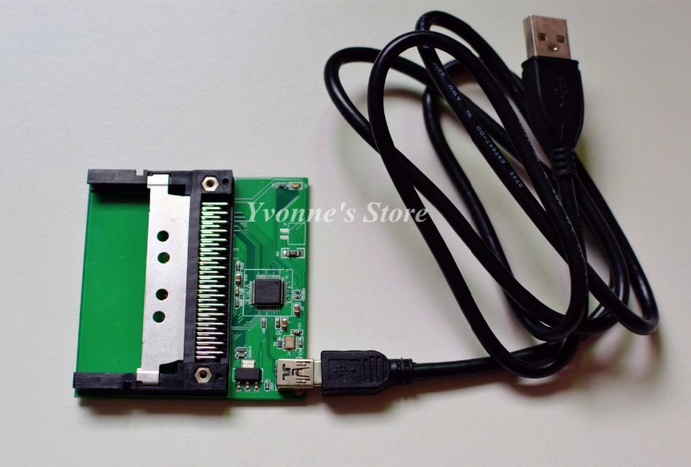 Usb 2 0 To 68 Pin Pcmcia Card Reader For Ata Sd Cf Card