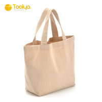 Best selling products cheap price plain style canvas tote bag