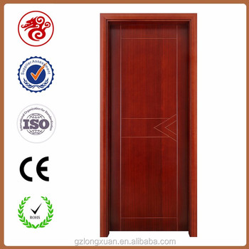 UL 20min Fire Rated Hotel Guest Room Wood Entry Door