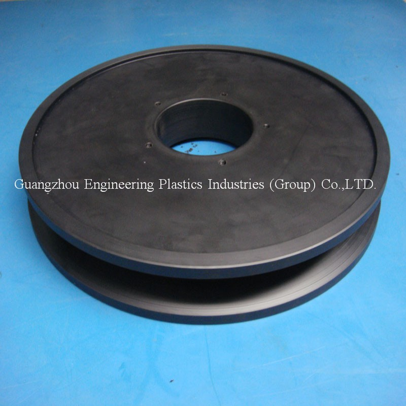 Manufacture OEM&ODM custom made PA6 sheave nylon plastic large pulley wheels