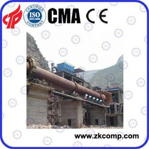 PPC cement rotary kiln for Cement Making Line