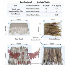Hot sale and popular in Bali artificial reed synthetic thatch