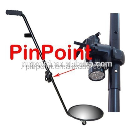 Pinpoint Mini Convex Under Vehicle Inspection Mirror