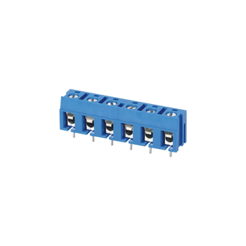 4 position single row 450V 24A card edge connector