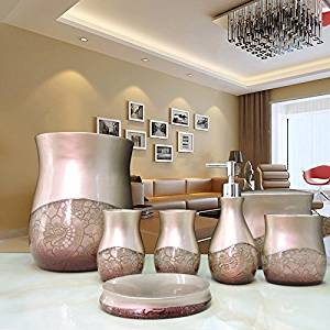 SBWYLT-Manufacturers selling seven-piece bathroom set-bathroom luxury bathroom suite bath supplies wholesale resin bathroom