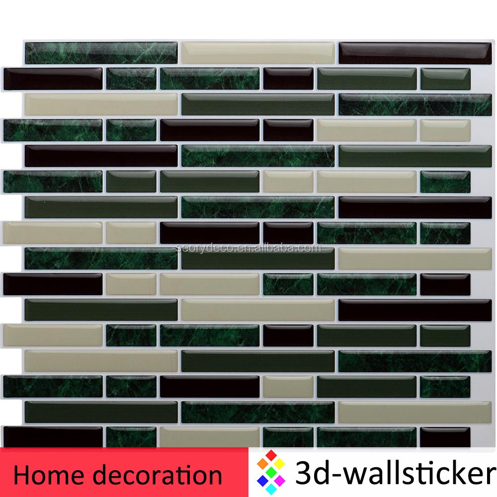 Warm te koop nieuw ontwerp huisdecoratie zelfklevende muur ...