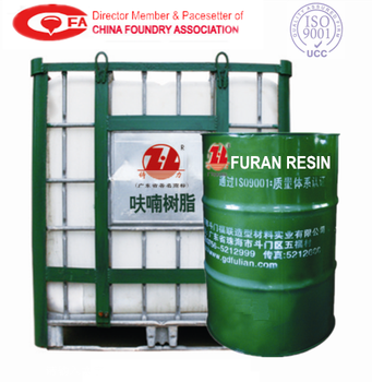 no-bake furan resin for sand mold, Low free formaldehyde polymer resin