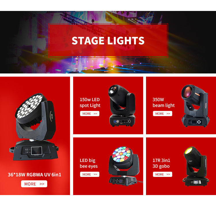 Factory price wholesale multi RGB color beam led laser light