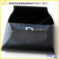 2015 Cheap Charming Fashion Magnetic New Arrive Leather Black Card Holder Desktop Business Card Holder For Design In Shenzhen