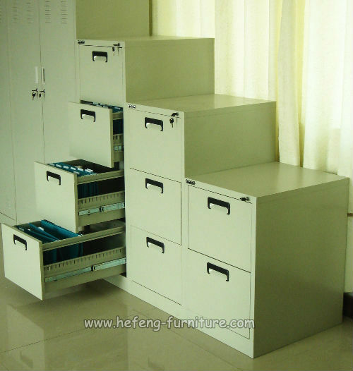 Metallic Filing Cabinet Drawers