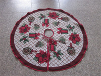 Customized High Quality Quilted Tree Skirt