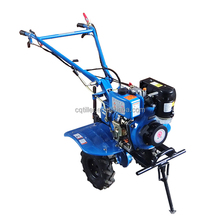 Modern agricultural equipment instead of the traditional soil tilling