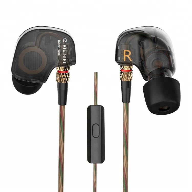 Wired 3.5mm In Ear Earphone Earbuds with Mic KZ ATE фото