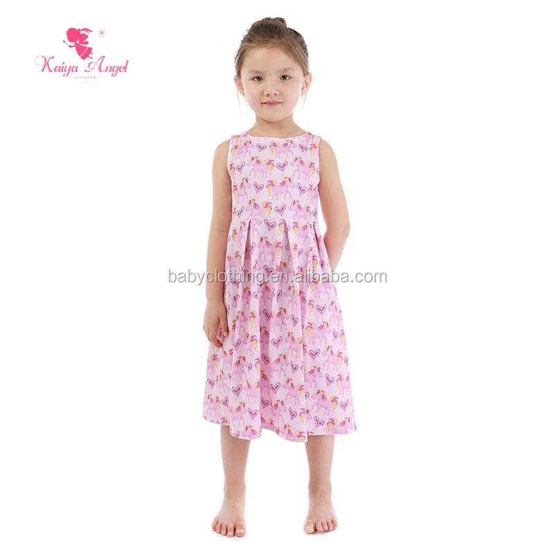 Venta al por mayor vestido rosa de niña-Compre online los mejores ...