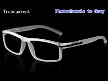 Ретро квадратные фотохромные солнцезащитные очки для чтения лупа для женщин и мужчин модные заклепки Пресбиопия очки пресбиопические очки...(Китай)